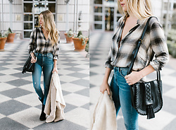 Payton Sartain - Lucky Brand Flannel, Lucky Brand Jeans, Lucky Brand Shearling, Lucky Brand Purse - Flannel & Fit
