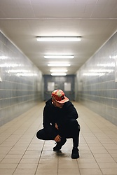 Kevin Elezaj - Nike Sneakers, Asos Sweatpants, Urban Outfitters Sweater, Huf Cap - Happy New Year
