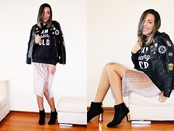 Cá Cavalcant - Jacket, Skirt, Sweatshirt, Boots - New Year's Eve