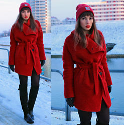 Jointy&Croissanty © -  - Red wool trench coat