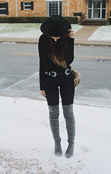 MaryAlice G - Simmi Over The Knee Boots - When the snow fell