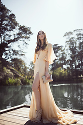 Alyssa Casares - Alyssa Nicole The Aly Gown, Carolina Herrera Clutch - Stow Lake