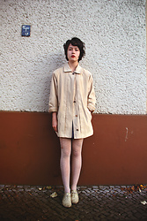 Elene H. - Flea Market Coat, Shoes - White