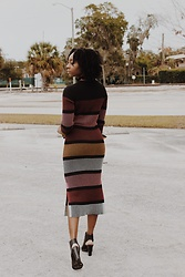 Kenesha Trenea - H&M Sweater Dress - Color Play
