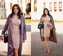 Viktoriya Sener - Vipme Coat, Metisu Dress, Furla Bag - SPRING IS CLOSE