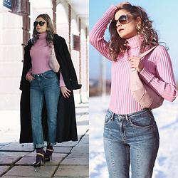 Madalina Gugila - Couch Bag, H&M Jeans, Dolce & Gabbana Sunglasses - Old Habits