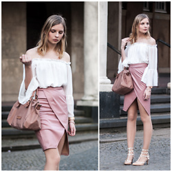 Ruth Pie - Liebeskind Berlin Bag, Valentino Rockstud Heels - Wrap Skirt