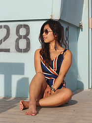 Lily T - Lavish Alice Jumpsuit - VENICE BEACH LIFEGUARD OFF-DUTY