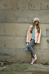 Emma MAS - Forever 21 Pink Jacket - Pink jacket and sunnies