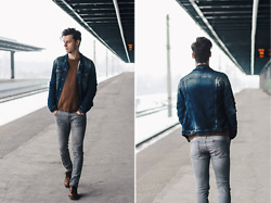 Vladimir Kachesov - Zara Jeans Jacket, Zara Sweater, Pull & Bear Jeans, Ecco Shoes - STEP UP