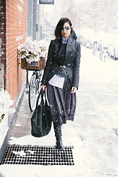 URBAN CREATIVI-TEA - Chanel Sunglasses, Pipsqueakchepeau Dress, Céline Bag - Winterstyle / urbancreativi-tea
