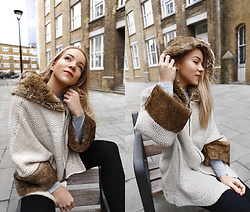 Silver Girl - Asos Faux Fur Coat - FEELS LIKE HOME