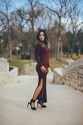 Ralizabeth Orellana - Shein Dress - Valentine's Day Chic