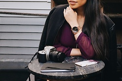 Josephine Ellen - Klasse14 Watch, Express Top, Asos Jacket - Capturing Time with Klasse14