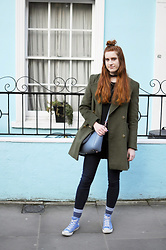 Ola R. - Furla Bag, Stradivarius Coat - Notting Hill