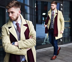 Lukasz Podlinski - C&A Coat, C&A Pants, C&A Shoes - Podlinski