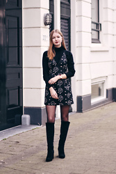 Janne B -  - Dress over turtleneck