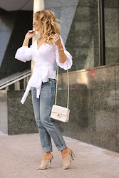 Amber Wilkerson - Shein Top, Boohoo Jeans, Kendall + Kylie Shoes - When in Doubt, Chanel it Out