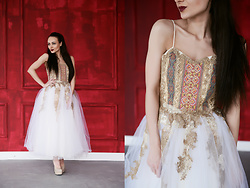 Ksenia Murashka - Murashka Design Dress - Midi wedding dress