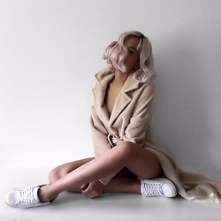 Da Li - Nelly Coat - Beige coat