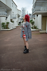 P&P Nororre - Rosegal Veste, Sacha Shoes Boots - Grunge
