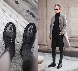 Daniil Shamatrin - Coat, Shoes - Jonsi – Andvari