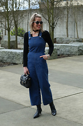 Anne Dofelmier - Suno Denim Jumpsuit - Denim Cullotes Jumpsuit