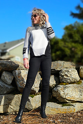 Anne Dofelmier - Asilio Turtleneck Sweater, Sanctuary Skinny Jeans - Turtleneck Sweater