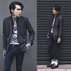 IVAN Chang - Tastemaker 達新美 Suit, Tastemaker 達新美 Shirt, Tastemaker 達新美 Vest, Asos Jeans - 310317 TODAY STYLE