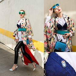 Maria Vidrasco - Oriental Vintage 88 (Kimono), Chic Me (Leggings), Ppz (Bra), Her Sweet Embrace (Pin), (Similar), Lynne, Alberta Ferretti, Cndirect - GEISHA GIRL | M&M FASHION BITES