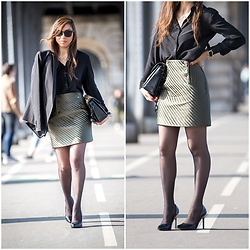"Holy Rakoto - Zara Heels - ""Working girl outfit!"""