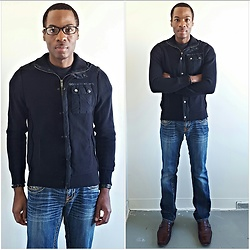 Thomas G - Bisou D'eve Denim, Express Fleece, Kenneth Cole Dress Shoes - Bisou D'Eve jeans