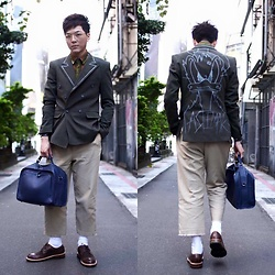 Linus Hung - Tastemaker 達新美 Blazer, Margot Bag, Vanger Shoes - See u later
