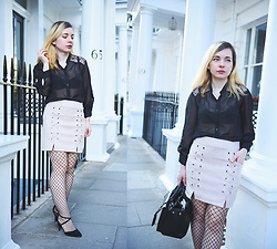 Victoria Burbulea - Light In The Box Skirt - STREETS OF KENSINGTON