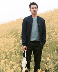 Effendy Sigit - Zara Outer, Uniqlo Sweater, Uniqlo Pants - Deep Spring