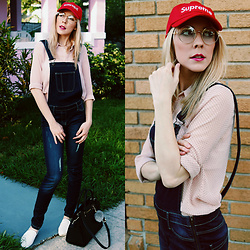 Zuzana - Camaïeu Denim Jumpsuit, Michael Kors Selma Handbag - ♥ Kawaii Mood ♥