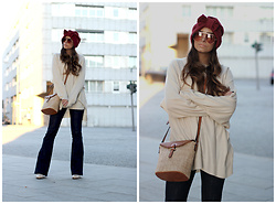 Bárbara Marques - Primark Sweater, Paco Martinez Bag, Zara Jeans, Zara Boots, Brothers And Sisters Turban, Tommy Hilfiger Sunglasses - Right on time