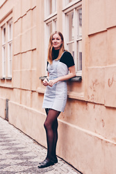Janne B -  - Zara Denim Dress