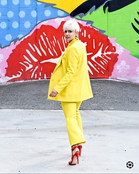 Rebecca L -  - Yellow Suit
