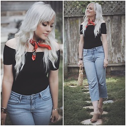 Kari Jane Ballesteros - Levis Jeans - Spring Things