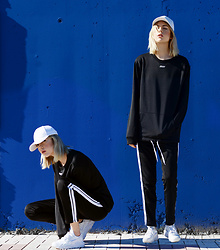Ebba Zingmark - Junkyard Top And Pants, Nike Sneakers, Ebba Zingmark Blog - IN AIR