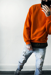Ghouls - H&M Jeans, Urban Outfitters Sneakerd - Jailbird