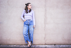 Ingrid Wenell - H&M Top, Custommade Vintage Jeans, Zara Shoes - Vintage Jeans