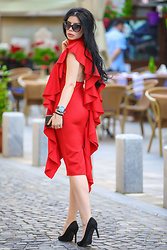 Laura Veronica -  - Red dress..