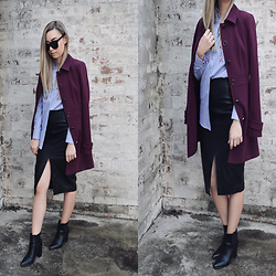 Melody R -  - Mood: Burgundy and Navy
