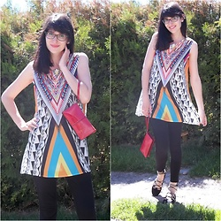 Madziastylee - Tunic - Colourful tunic