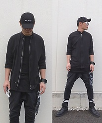 ★masaki★ - Kollaps New Wave, Ch. Jacket, Odyn Vovk Dropcrotch, Dr. Martens Limited 10hole, Maison Martin Margiela Leaterblace - Trash style 160