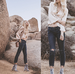 Sarah Loven - Shop 12th Tribe Top, Free People Jeans, Public Desire Boots, Steve Madden Purse - Thanks for the memories