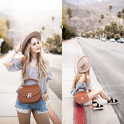 TIPHAINE MARIE - Hat, Top, Bag - PALM SPRINGS