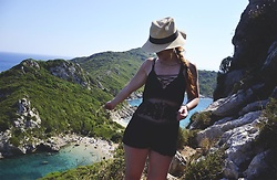 Wioletta M - Topshop Playsuit - Corfu Time